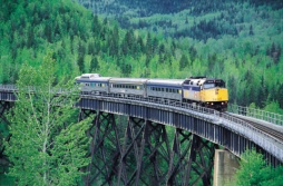 Via Rail's Skeena - (Photo Credit: ©Tourism British Columbia)