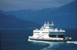 BC Ferry, Horseshoe Bay - (Photo Credit: ©Tourism British Columbia)