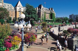 Inner Harbour, Victoria - (Photo Credit: ©Tourism British Columbia)