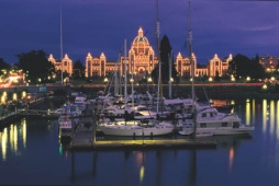 BC Legislature, Victoria - (Photo Credit: ©Tourism British Columbia)