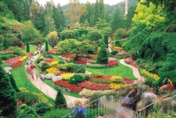 Butchart Gardens, Victoria - (Photo Credit: ©Tourism British Columbia)