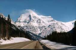 View of Mount Robson